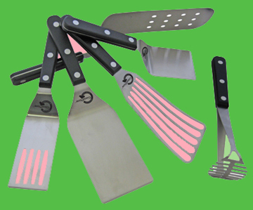 Lamson & Goodnow's New Green Tools (Image Courtesy of Lamson & Goodnow; garish colors added by me)