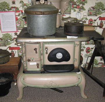 Part of the East Brunswick Museum's Kitchen Collection