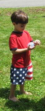 Water balloons provide plenty of summer fun.