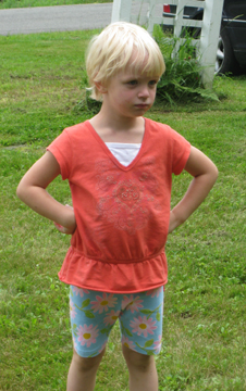We had occasional (short-lived!) displays of attitude.