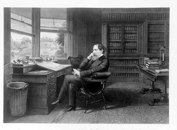 Charles Dickens (Courtesy of the Library of Congress)