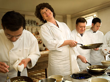 Meryl Streep is cooking with gas as Julia Child. (Courtesy of Sony Pictures)