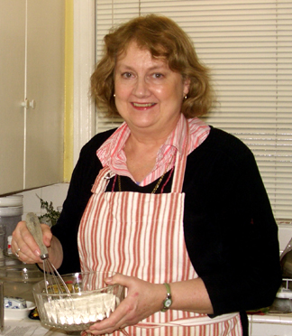 Sue Haas in the Kitchen